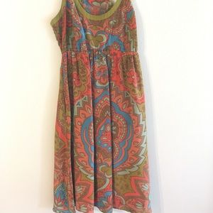 Anthropologie racerback dress